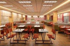 学校餐厅标语_学校食堂布置图片_学校食堂餐厅设计图片