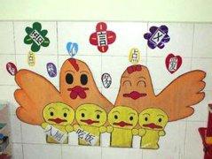 幼儿园语言区墙面布置图片图片