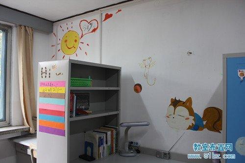 大学宿舍/寝室布置图片:温馨的家(4)_教室布置网