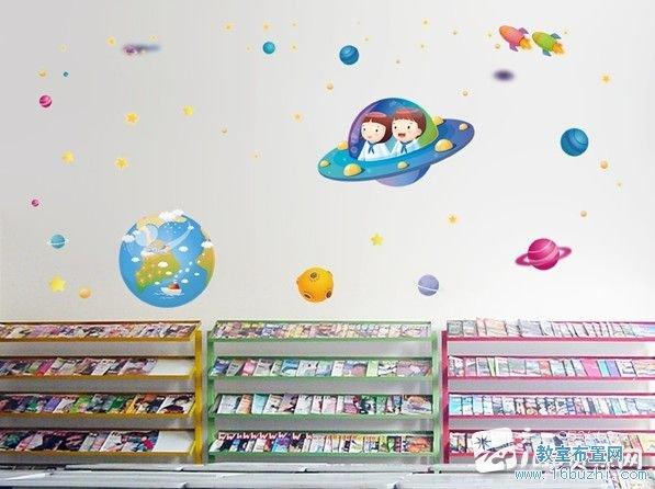 幼儿园图书区布置