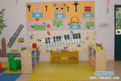 幼儿园音乐教室布置图片