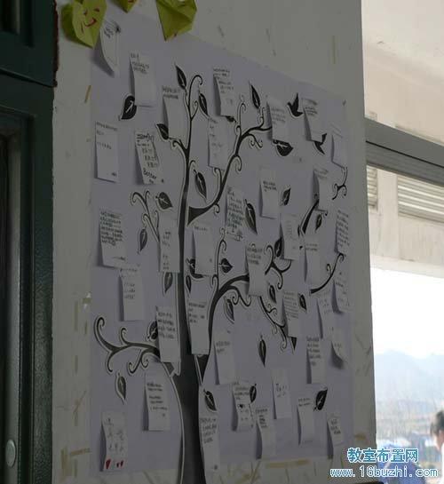 初中课室环境布置内容|初中课室环境布置版面设计