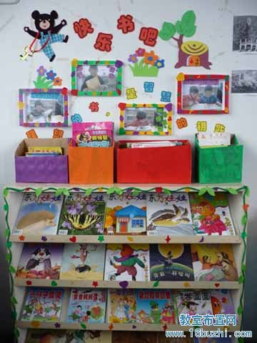 幼儿园中班图书区布置_幼儿园中班图书区布置高清图片图片