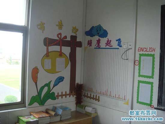 新学期小学班级布告栏设计_教室布置网图片
