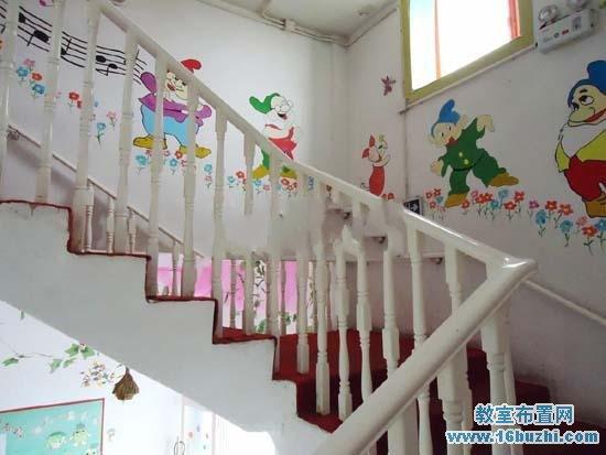幼儿园楼道墙面造型