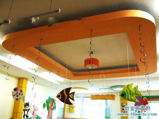 幼儿园小班吊饰布置:热带鱼群