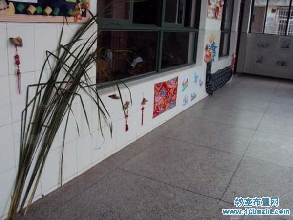 幼儿园端午节走廊墙面布置