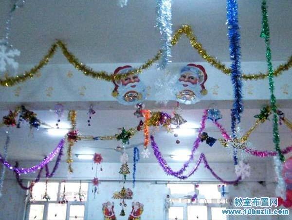 幼儿园大班圣诞节布置:漂亮的圣诞树