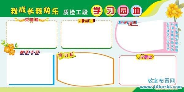 学习园地模版素材内容学习园地模版素材版面设计