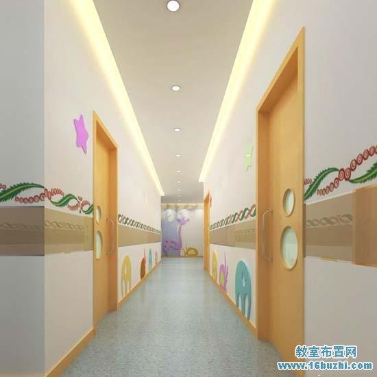 幼儿园楼道装修设计图_教室布置网