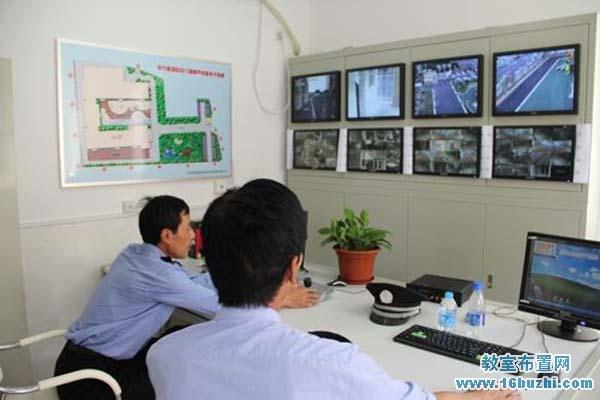 幼儿园外墙图片_幼儿园保安监控室布置图片_教室布置网