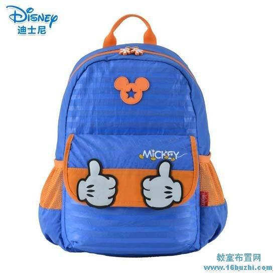 迪士尼米奇书包官网_儿童迪士尼米奇书包设计图片_教室布置网